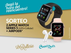 Bases del sorteo en Instagram de dos Apple Watch ⌚️